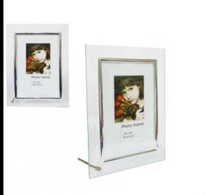 Porta Retrato De Vidro 10x15 Ref. 447-1 Cx. 60 Image