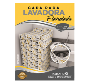 Capa p/ Lavadora Flanelada Tam. G Ref. MHCAPMAQGOF Sub.12 Image