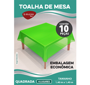 Toalha de Mesa Economica c/10 Pecas QD Cx.100 Sub.12 Image