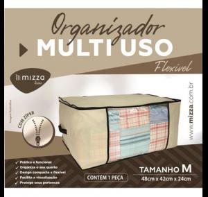 Organizador Multiuso Flexivel Tam. M 48x42x24 cm Cx.100 Sub.12 Image