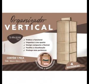 Organizador Vertical 4 Divisorias Cx.50 Sub.12 Image