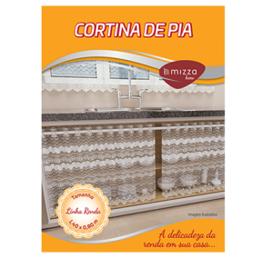 Cortina de Pia em Renda 1,40x0,80m Cx.24 Image