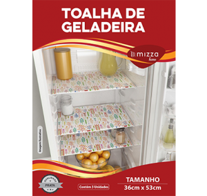 Toalha De Geladeira 3 pecas em Vinil Sub.36 Cx.1000 Image